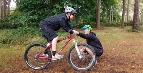 All Mountain Coaching Mountain Bike Skills Courses On